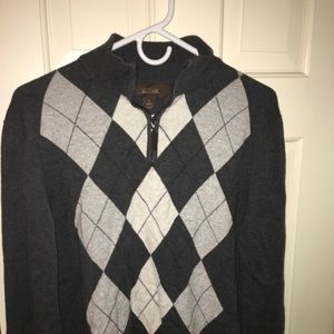 Men's Tasso Elba 1/4 zip sweater